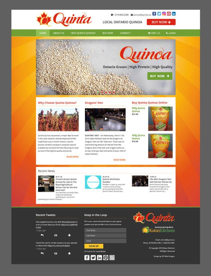 Quinta Main Page